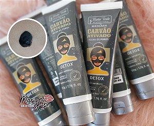 Máscara De Carvão Ativado Detox Matto Verde