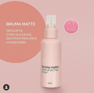 BRUMA INCOLOR MATTE MAKEUP SETTING BELLE ANGEL T061