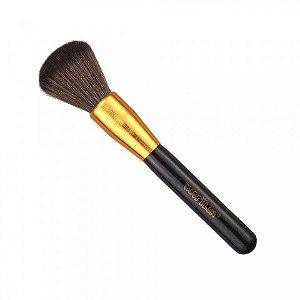 Pincel Maquiagem Para Pó Gold Dourado G101 Macrilan