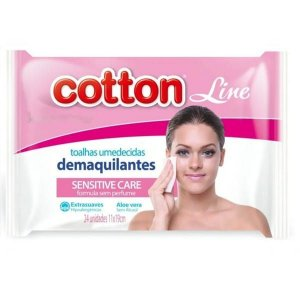 Lenços Demaquilantes Cotton Line