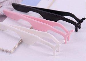 Pinça de cilios de plastico resistente