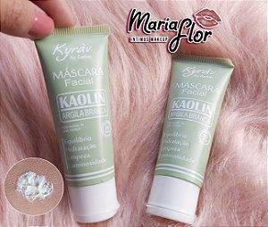 Máscara Facial Argila Branca Kaolin e Chá Verde 30 ml – Kyrav