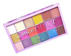 Maquiagem Paleta De Sombras Dulce Amor Jasmyne Js1205