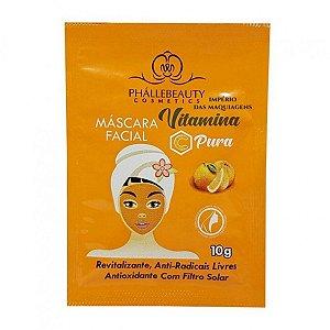Máscara Facial Vitamina C 10g - Phállebeauty