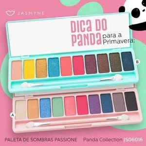 PALETA DE SOMBRAS PASSIONE - PANDA COLLECTION - JASMYNE