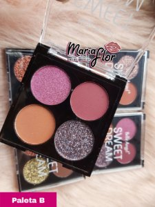 BELLE ANGEL PALETA DE SOMBRAS GLITTER SWEET DREAM  (B)
