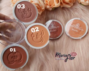 BLUSH FACIAL COMPACTO - PHÁLLEBEAUTY
