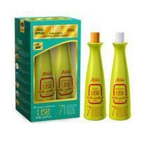 Kit Shampoo + Condicionador Liso Brilho Espelhado Super Poderosa PROBELLE