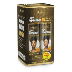 Kit Shampoo+cond.volumex 300ml Mel e Propolis - Probelle