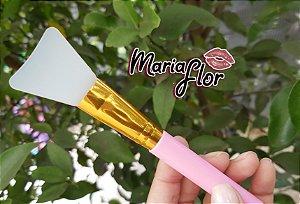 Pincel de silicone para aplicação de mascaras