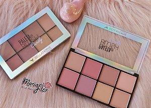 Paleta de blush bella femme bf10057