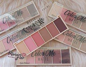 Paleta de Blush Color Me Efeito Natural Matte - Vivai