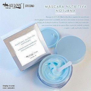 Hidratante Facial Nutritivo Noturno - Max Love