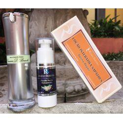 Kit Resistência e energia- Loção Interativa Sapajjo's - Dermo Repair +Serum Facial Bio-Protetor Pomme D´ Beauté + Fluido Facial Hidratante para pele normal