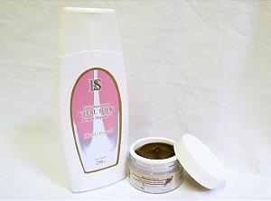 Kit Leite Hidratante Vital Milk Facial e Corporal 250 g + Máscara Facial com Extrato de Flores - 50 g