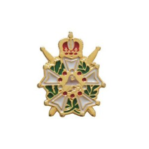 BT-040 - Pin Demolay Cavaleiro