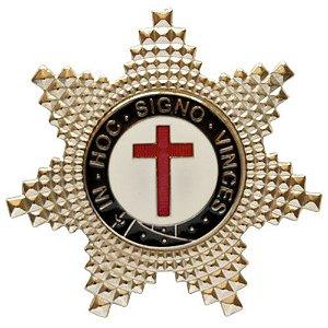 BT-077 - Boton Estrela de Irmão Cavaleiro Templário