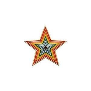 BT-144 - Pin Estrela Arco-Íris