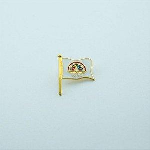 BT-185 - Pin Bandeira Yorg Arco-Íris