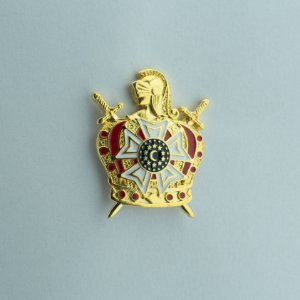 BT-241 - Pin Demolay 35 x 28 mm