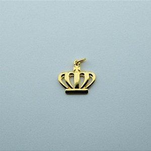 PI-028-D - Pingente Coroa Filhas de Jó Dourado
