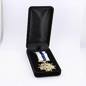 CO-005-A1 - Comenda Honra ao Mérito Azul - Com Estojo