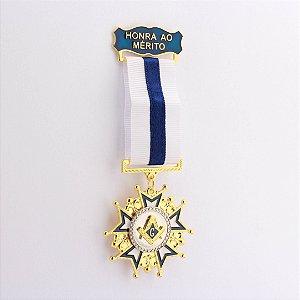 CO-005-A2 - Comenda Honra ao Mérito Azul - Sem Estojo