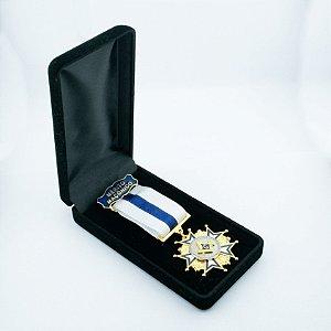 CO-007-A1 - Comenda Mérito Maçônico Azul - Com Estojo
