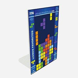 Aparador de Livros Tetris