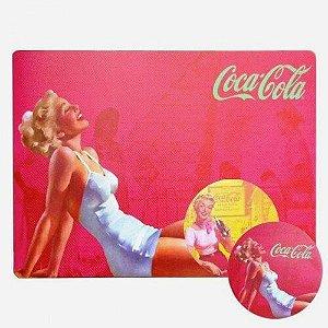 Jogo Americano Coca Cola Pin Up