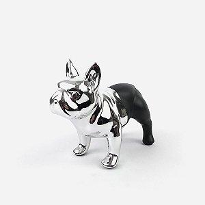 Bulldog Prata/Preto