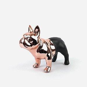 Bulldog Rose/Preto