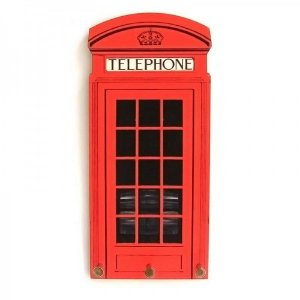 Porta Chave Telefone Londres
