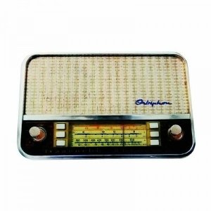 Porta Chave Rádio Retro