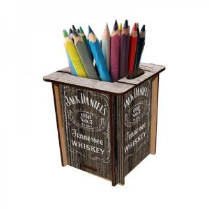 Porta Caneta Whisky