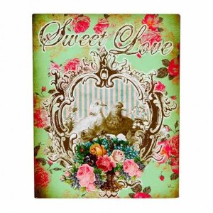 Placa Decorativa Sweet Love