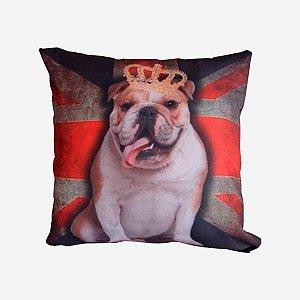 Almofada Bulldog Coroa