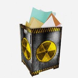 Lixeira Lixo Radioativo