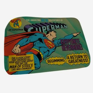 Tapete de Banheiro Superman