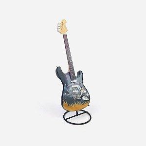 Guitarra Decorativa Iron Maiden