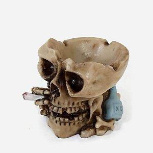 Cinzeiro Drunk Skull