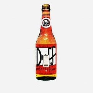 Capa de Interruptor Cerveja Duff