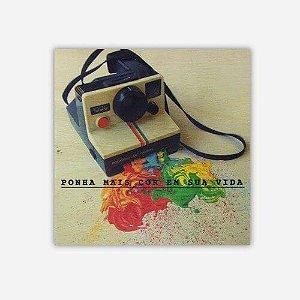 Quadro Polaroid Cores em Sua Vida