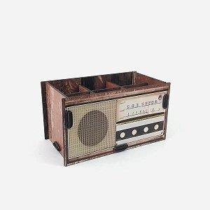 Caixa Montável Rádio Retro