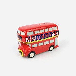 Cofre Decorativo Ônibus Londres