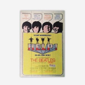 Quadro The Beatles Help