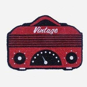 Capacho Rádio Vintage