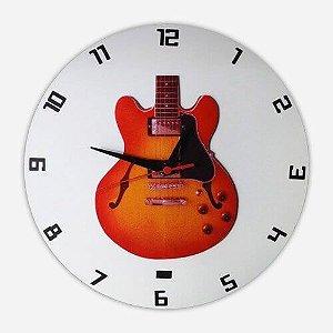 Relógio de Parede Guitarra Les Paul