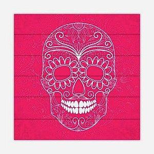 Quadro Skull Rosa