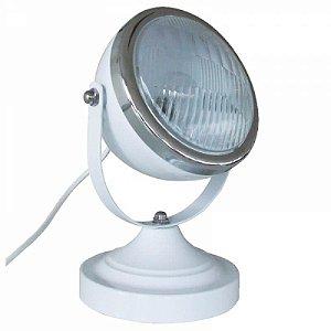 Luminária Farol de Fusca Branco